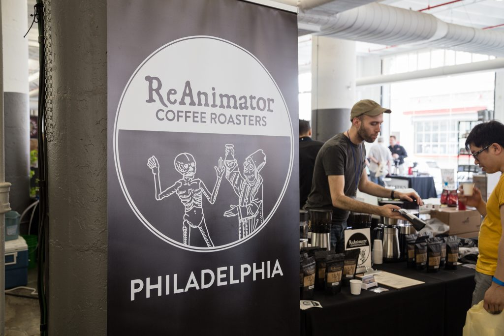 CoffeeCon Event 2016 in Indistry City Brooklyn NYC
